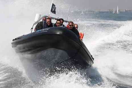 Seadogz - One hour RIB boating experience 90 minute extreme RIB boating experience  - Save 60%
