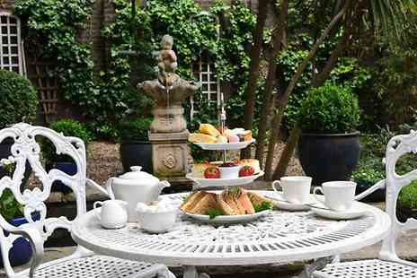 Academy Town House Hotel - Afternoon Tea With A Bottle of Bubbles For Two - Save 53%