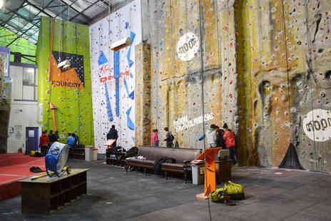 The Foundry Climbing Centre - Two Hour Indoor Climbing Taster Session - Save 52%
