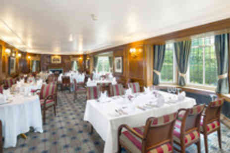 The Stanneylands Hotel - Double AA Rosette Five Dish Tasting Menu with Prosecco for Two  - Save 47%