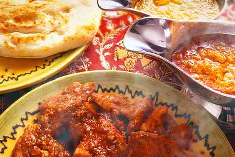 Jalalabad - Two Course Indian Meal With Rice, Naan and Wine For Two  - Save 44%
