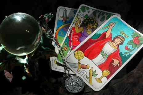 Mystic Jen - Tarot Reading or Past Life Regression Therapy  - Save 76%
