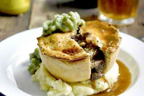 King Charles Restaurant - Pie Meal With Beer For Two  - Save 52%
