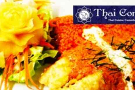Thai Corner - Two Courses of Thai Fare For Four People - Save 60%