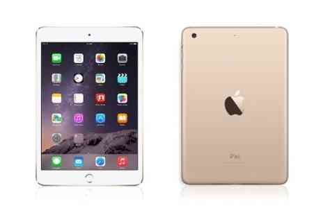 Yellowstone Partners - Apple iPad Mini 3 in Gold 16GB Wi-Fi Retina With Free Delivery  - Save 22%