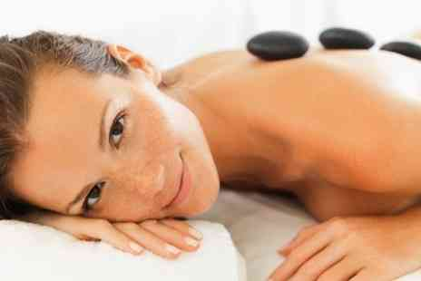 Cool Contours - One Hour Hot Stone or Swedish Massage - Save 65%