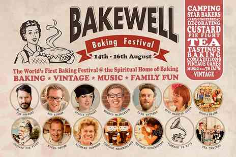 Bakewell Baking Festival - Two VIP Day Tickets to Bakewell Baking Festival - Save 36%