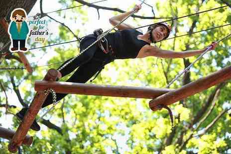 Aerial Extreme - High ropes adventure experience  - Save 52%