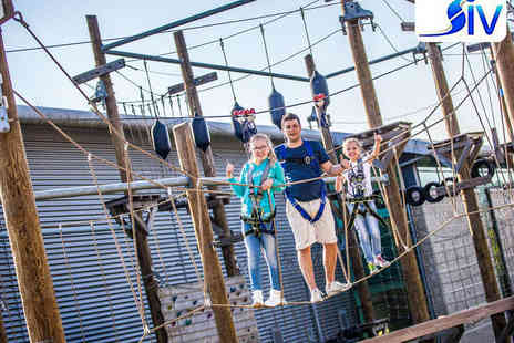 Altitude - High Ropes Outdoor Adventure Course for One Adult and One Child - Save 52%
