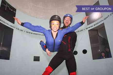 Bodyflight Bedford - Indoor Skydiving Experiences  Two Flights for one person  - Save 40%