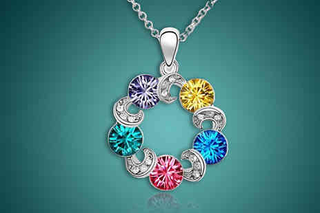 Finishing touch - Rainbow Crystal Necklace - Save 0%