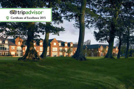 Formby Hall Golf Resort - Luxurious spa day for 2, including full access, lunch and an Atlas Rasul treatment  - Save 58%