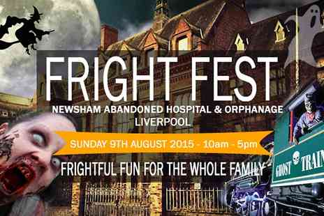 Haunted Happenings - Ticket to Newsham Park Hospital & Orphanage Fright Fest For Adult - Save 70%