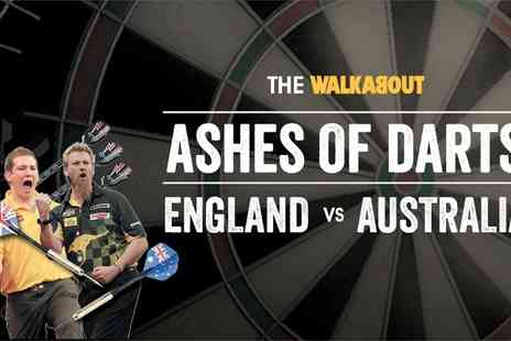 Curated by Groupon Events - Ticket to The Ashes of Darts Tour: Standing  - Save 26%