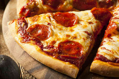 "Pizza King - Two 10"" Pizzas & a Bottle of Pepsi - Save 50%"