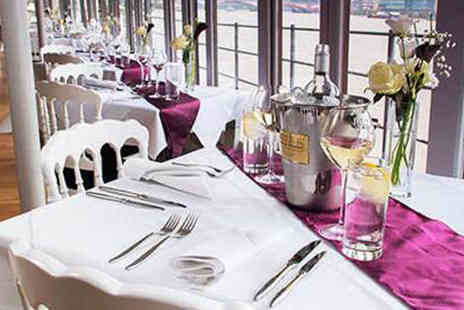 The Yacht London -  Starter and main course or main course and dessert for two  - Save 0%