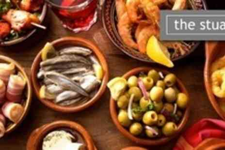 The Stuart Hotel - Eleven Dish Tapas Sharing Meal For Four - Save 61%