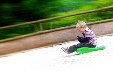 Mendip Activity Centre - One Hour Tobogganing Session Plus Chips and a Drink - Save 54%
