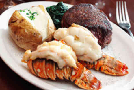 Boisdale of Bishopsgate - Steak and Lobster Meal with Prosecco for Two  - Save 49%