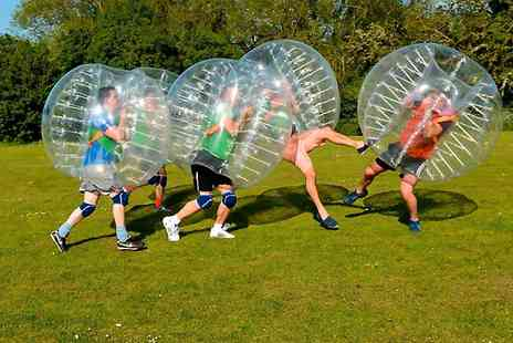 Bubble Zorb Football - One Hour Match For Up to 15 - Save 22%