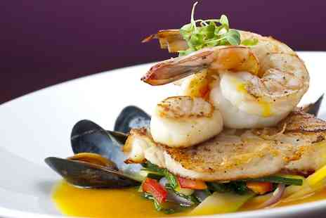Chelsea Bar and Brasserie - Two Course Seafood Meal For Two - Save 51%