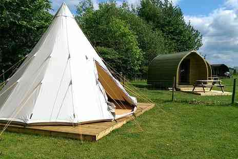 Yapham Holds Farmhouse - Two night weekday tipi camping experience in the Yorkshire Wolds for 2   - Save 33%