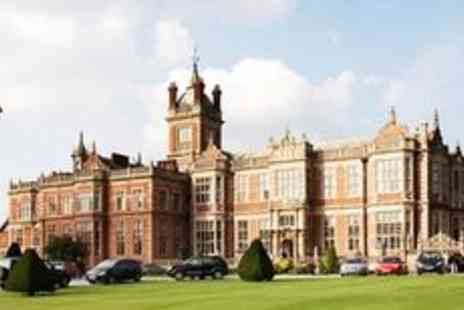 Crewe Hall - Spa day with treatments - Save 57%