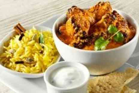 Coppers Spice Cafe - Three course Indian dinner for two - Save 0%