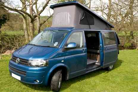 Evolution Motor Homes - Volkswagen or Rimor Motorhome Hire For Up to Four  - Save 0%