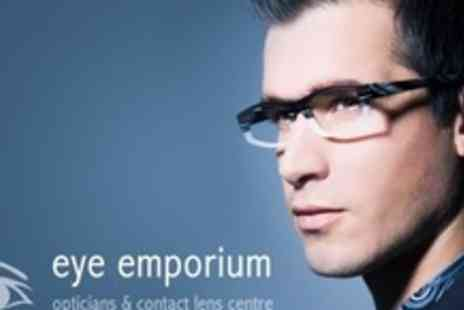 Eye Emporium Opticians - Eye Test and Prescription Lenses With Frames - Save 63%
