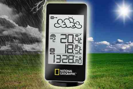 Sonic - Choice of National Geographic Weather Stations - Save 48%