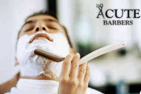 Acute Barbers - Perfect Fathers Day gift  - Save 49%