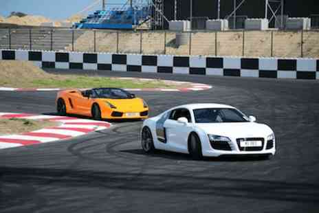 Supercars Scotland - Five driving laps and 3 passenger hot laps in a choice of supercar  - Save 0%