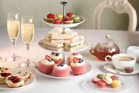 London Elizabeth Hotel - Sparkling afternoon tea for two including sandwiches, scones, cakes and more   - Save 63%