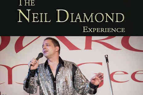 The Maldron Hotel - Two or Four Tickets to Neil Diamond Tribute with Dinner - Save 65%
