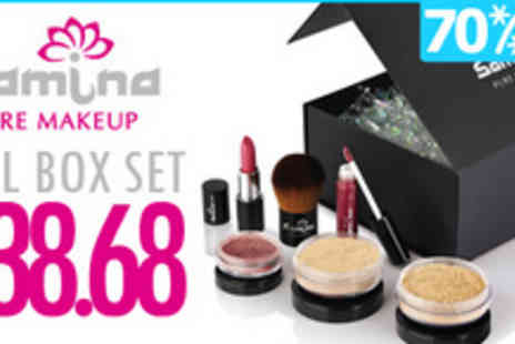 Samina Pure Makeup - You will be made up with 70% off a complete box - Save 70%