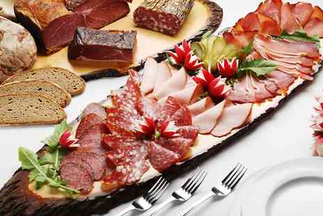 Royal Oak - Charcuterie Tasting Board and Wine For Two - Save 0%