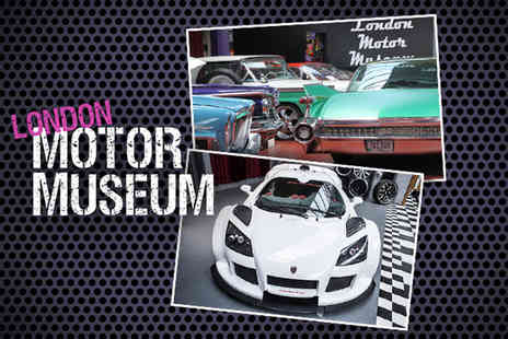 London Motor Museum - Ticket to the London Motor Museum  - Save 53%