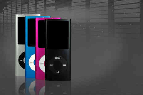 eGlobal Shoppers -  8GB MP4 music media player - Save 72%