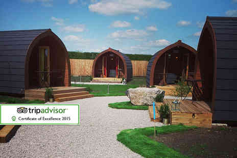 The Little Hide -  Two night adults only glamping pod break - Save 51%