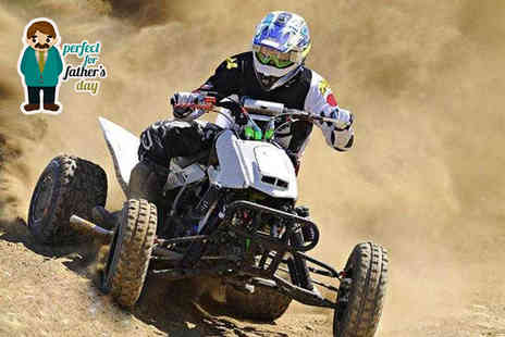 KJB Quadcross -  5 mile quad biking experience  - Save 67%