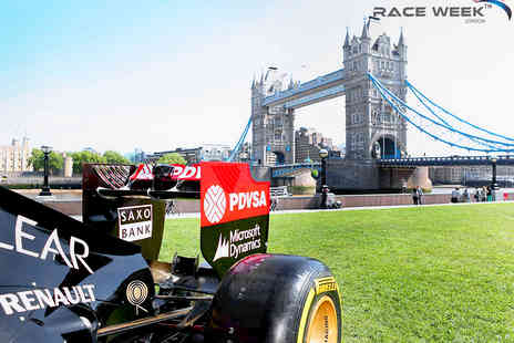 GP Events  - Formula One Race Week London 2015 Event - Save 42%