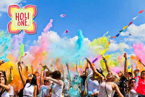 Holi One  - Two DAY PASSES to the London HOLI ONE colour festival  - Save 49%