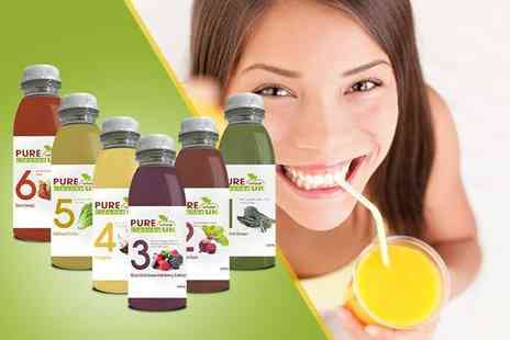Pure Viva Cleanse - Three day juice cleanse pack  - Save 40%