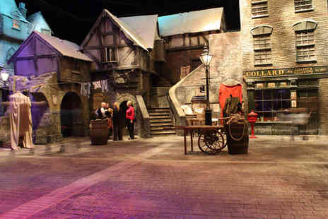 Dickens World - Ticket to Dickens World The Grand Tour, Chatham including a hot or cold drink  - Save 47%