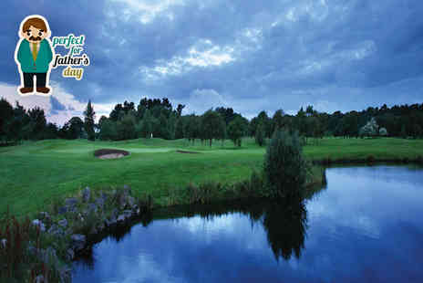 Formby Hall Golf Resort - Golf day and lunch for two  - Save 59%