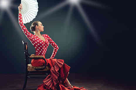 Salvador & Amanda - Flamenco show and an eight plate tapas meal for two including a glass of bubbly each   - Save 60%
