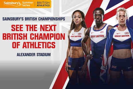 BRITISH ATHLETICS - Sainsburys British Athletics Championships Tickets - Save 28%
