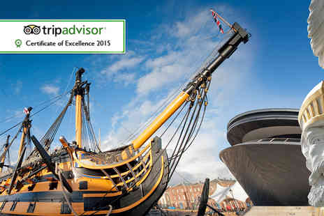 Portsmouth Historic Dockyard - Years unlimited entry for two   - Save 51%