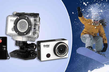 Sonic - Vivitar Full HD 1080P Wi-Fi Action Camera - Save 60%